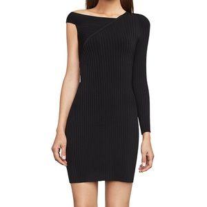 BCBG Max Azria Karli One-Sleeve Sweater Dress